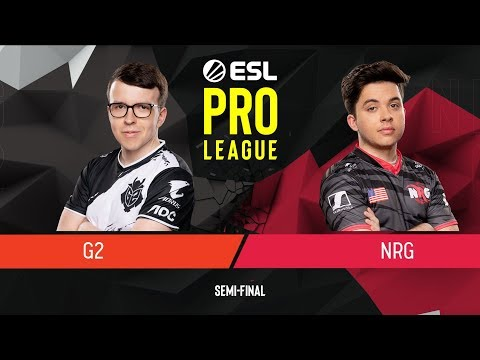 CS:GO - G2 Esports Vs. NRG [Dust2] Map 1 - Semi-Final - ESL Pro League Season 9