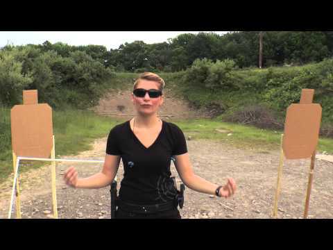 Warm Up Drill 2 ~ 2-Target Static Simple Transition Pistol Drill