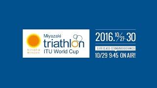 ITUワールドカップトライアスロン(2016/宮崎)のライブ中継チャンネル...