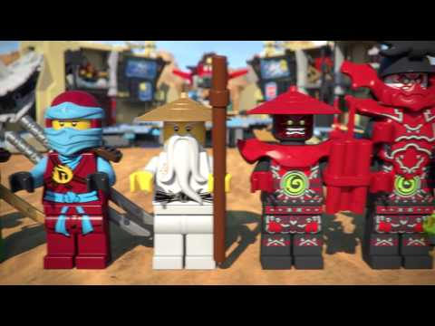 Samurai X Cave Chaos - LEGO Ninjago - 70596 - Product Animation