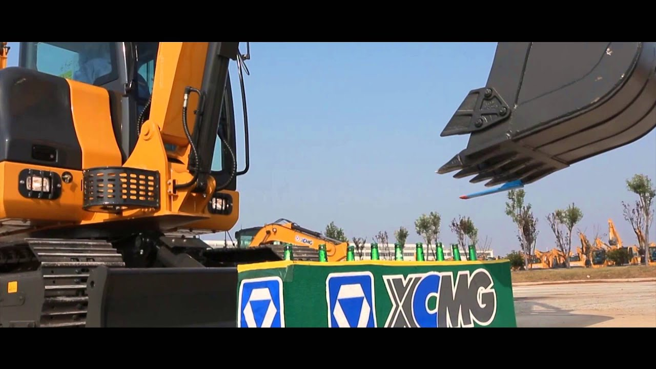 What XCMG Excavators Actually Do