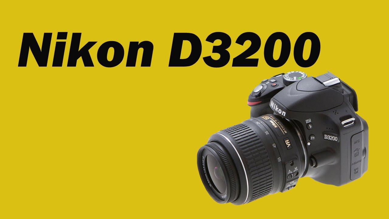 Фотоаппарат Nikon D3200 инструкция
