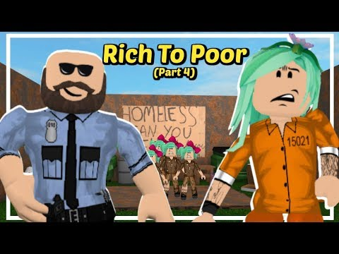 Roblox Mom of 6 kids:  Rich to Poor Prison | Part 4 | (Sad Roblox Story)
