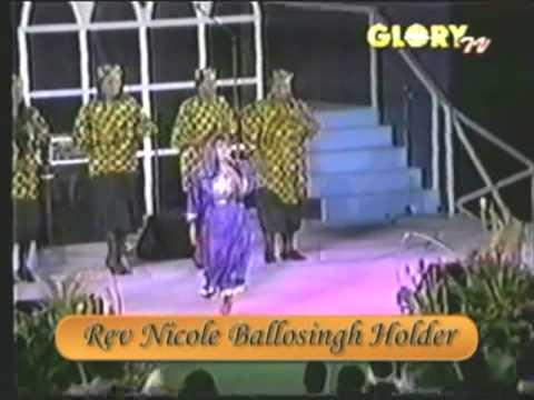 Nicole Ballosingh Holder Jump for Jesus