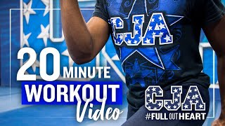 20 Minute Workout - No Equipment Needed - FULL BODY - CJA | Central Jersey Allstars