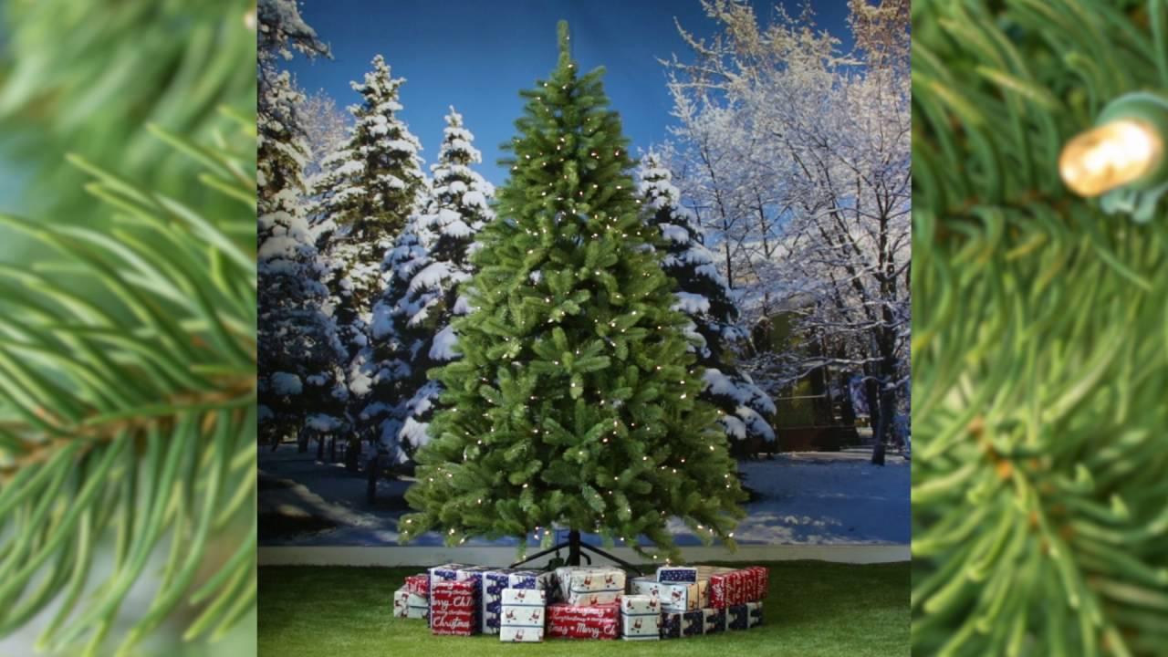 National Tree Lakewood Pre lit - YouTube