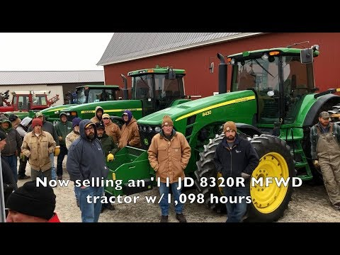 Highlights Of 3 Recent Farm Machinery Auctions By Sullivan Auctioneers In IN, IA And IL