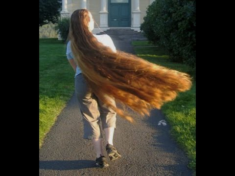 LONG HAIRSTYLES * Beauties women's long hair