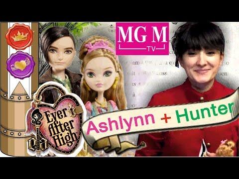 Распаковка Эшлин Элла и Хантер Хантсман / Aslynn Ella Hunter Huntsman Ever After High