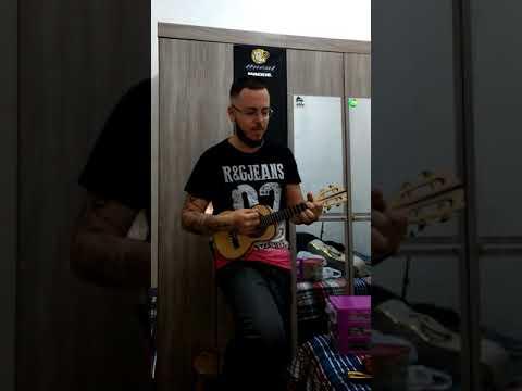 Cavaco Osvaldo Luthier Canhotinho faya com Wfsom