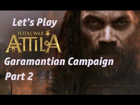 Total War Attila - Garamantian Campaign - Part 2
