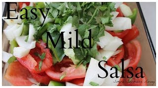 Homemade Restaurant Style Salsa - Making and canning the best garden fresh salsa