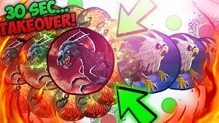 AGARIO 30 SECOND SERVER OBLITERATION! FUNNIEST AGAR.IO RAGE MOMENTS!