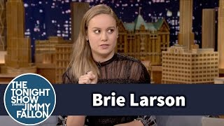 Brie Larson Jumped Out a Window at a College Party
