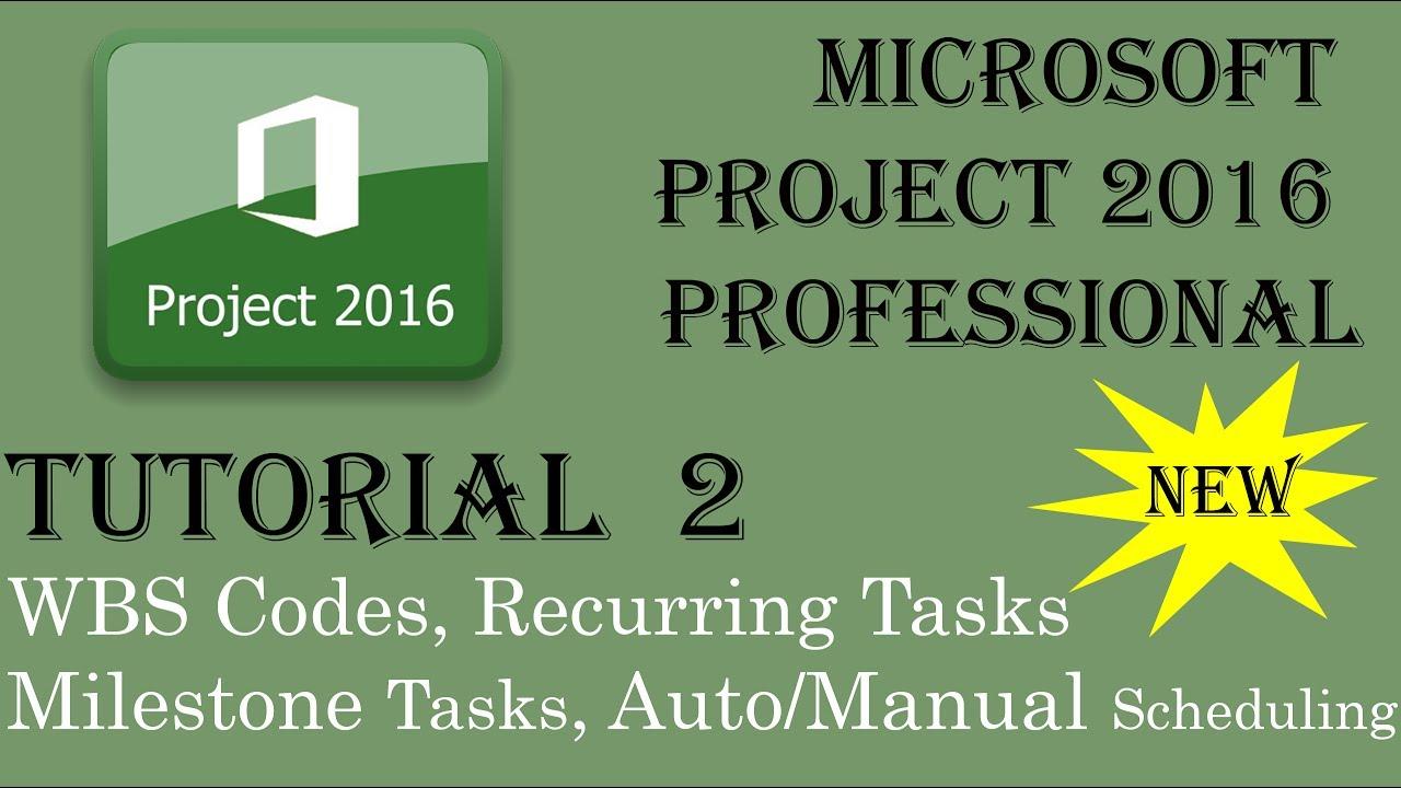 learning microsoft project 2016 pdf