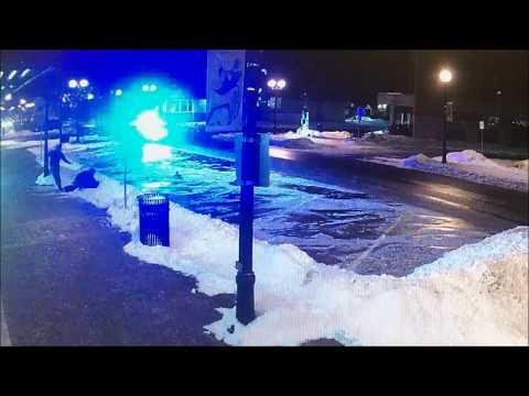 Surveillance/dashcam Of Cedar Falls, Iowa, Attack, March 1, 2015