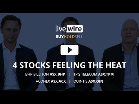 Buy Hold Sell: 4 stocks feeling the heat - TPG, BHP, QIN, ACX