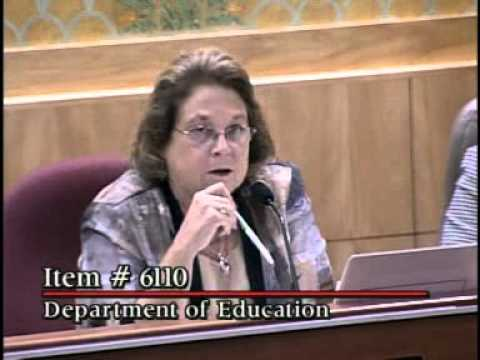 Senate Budget Conference Committee ( Part 2/2) 6/14/2010