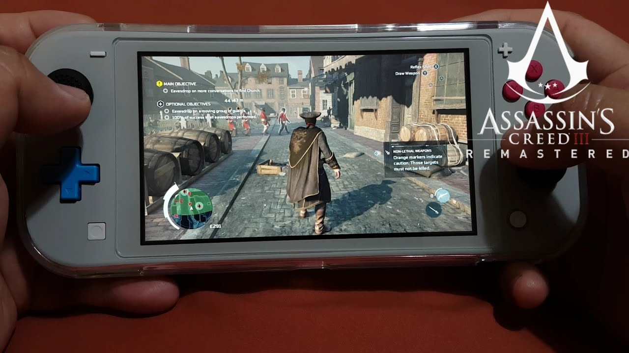 Assassins Creed 3 Remastered On Nintendo Switch Lite Part 5 Youtube