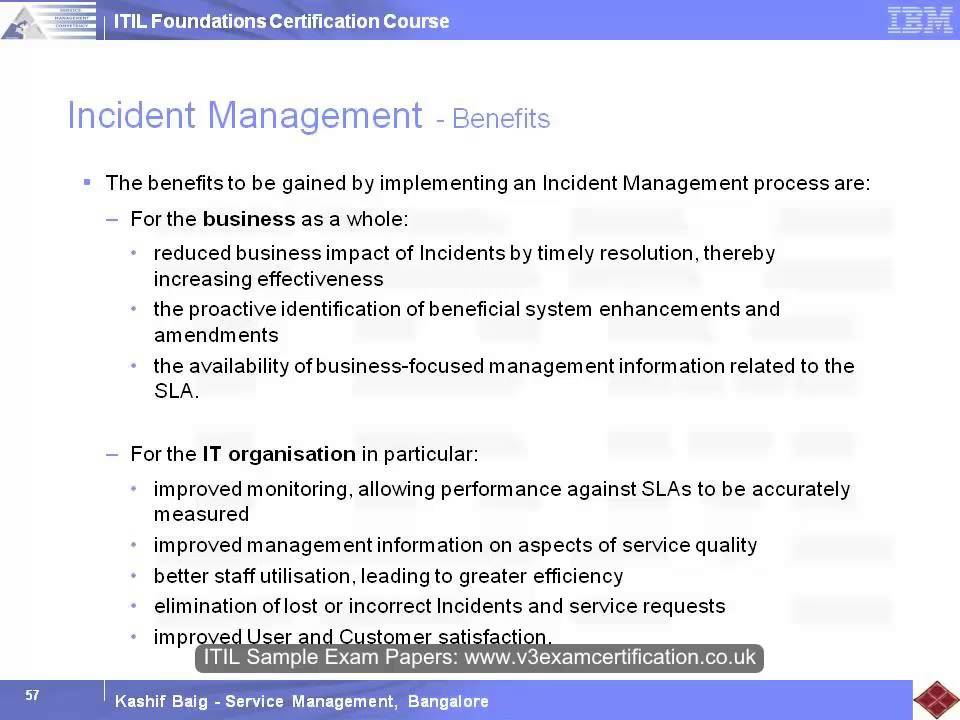Itsm Framework And Processes 04 Youtube