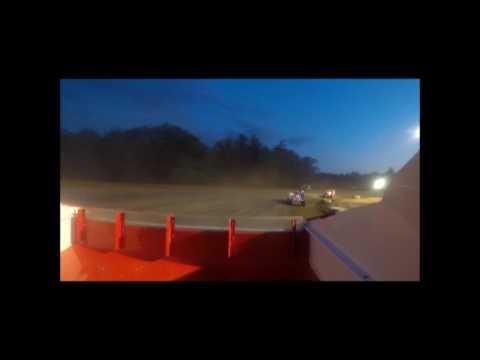 Albany Saratoga Speedway Feature 6/9/17 (Rear Camera)