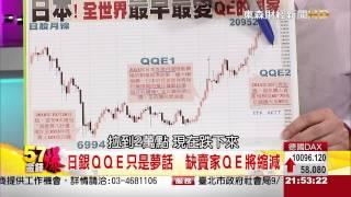 57金錢爆-冏!QQE有市無貨 日銀QE將縮減-楊世光-2015-0907-3