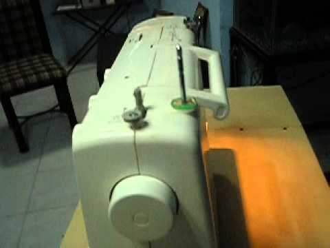 Mesa para maquina de coser youtube for Mesa para maquina de coser