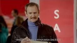 Sofa sale - Direct Line insurance ad - Chris Addison and Alexander Armstrong