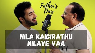 Nila Kaigirathu x Nilave Vaa | Dad and Son | AR Rahman, Ilayaraja | SP Balasubramaniam, Hariharan