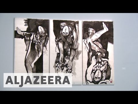 Iraqi artist Dia Azzawi's take on political history of the Arab world
