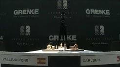 ¡En directo! Paco Vallejo vs Magnus Carlsen ; Grenke Chess Classic 2019