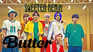 BTS (방탄소년단) BUTTER [Sweeter Remix] MV