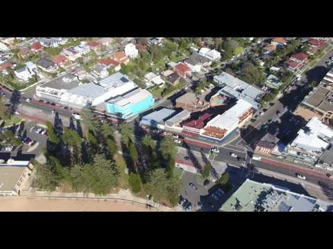 DJI Phantom4 Real Estate Footage Pittwater Road Collaroy