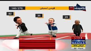 Imran Khan Dorh Mein Sabse Agay | SAMAA TV LIVE | Election Pakistan 2018