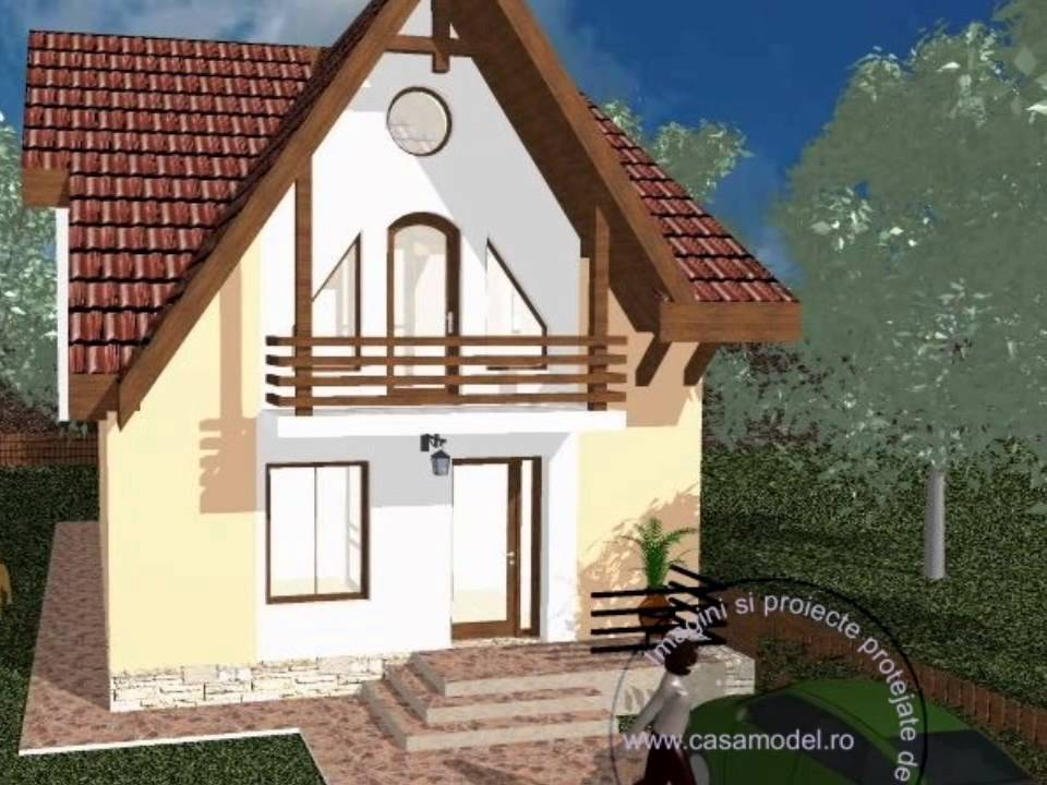 Proiect Casa Mansarda