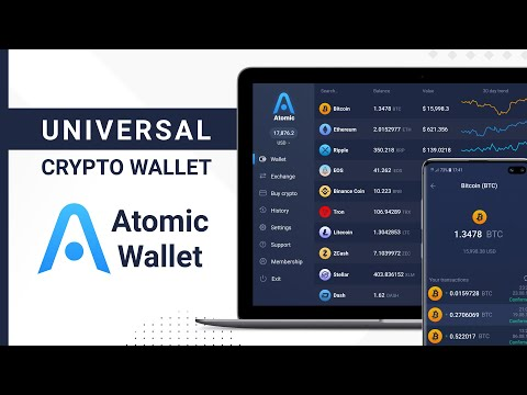 Atomic Cryptocurrency Wallet
