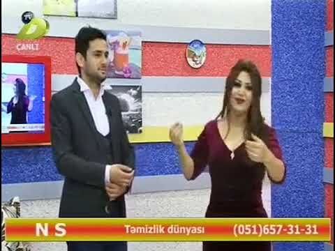 Menzure Musayeva ft Uzeyir Memmedov-Menim Ureyim Sensen Dunya tvde 2018