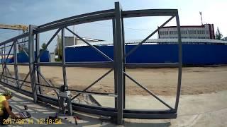 видео Промышленные ворота