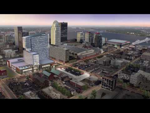 Omni Louisville Hotel Fly Through - Opening Spring 2018