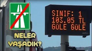 İSTANBUL İZMİR OTOYOLUNU 3,5 SAATTE GEÇMEK!