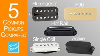 alnico vs ceramic pickups