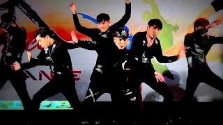 """""""BoyzX"""" cover """"Trespass+All in+Stuck+Fighter"""" (Monsta X) @ """"The Bright JK Street Cover Dance 2016"""""""