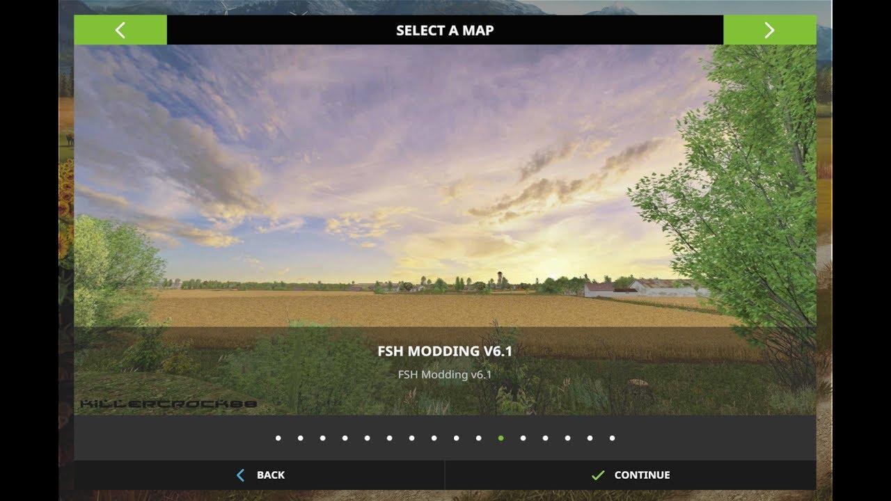 Canadian Map Fs17%0A Farming Simulator      FSH Modding Map v