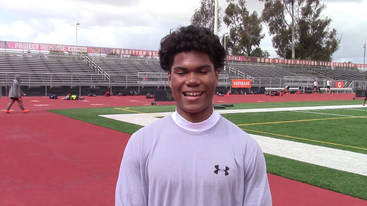One to Watch Interview with 2021 Mission Viejo WR Mavin