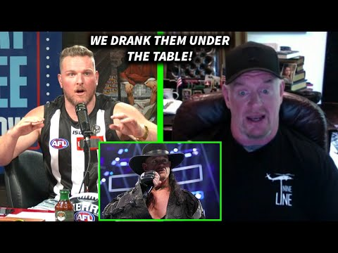 The Undertaker Tells A Legendary WWE Drinking Story