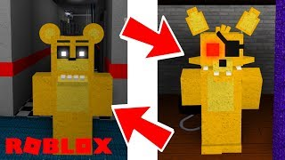 becoming awesome golden fnaf animatronics roblox animatronic world