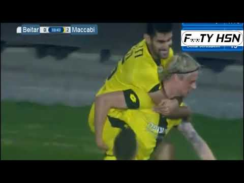 Maccabi Netanya Vs Beitar Jerusalem 2-1 (GOALS HIGHLIGHTS) Israel Premier League 29-01-2018