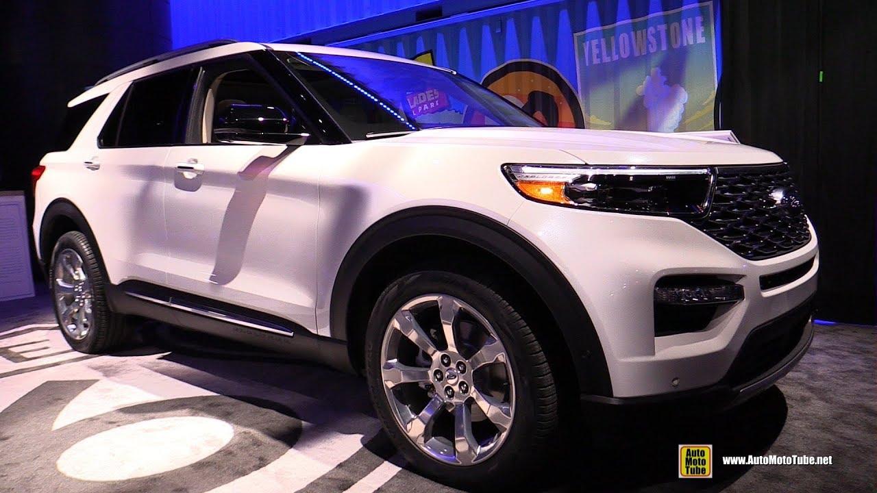 2020 Ford Explorer Platinum Exterior And Interior Walkaround 2019 Detroit Auto Show