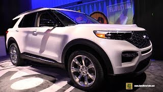 2020 Ford Explorer Platinum - Exterior and Interior Walkaround - 2019 Detroit Auto Show