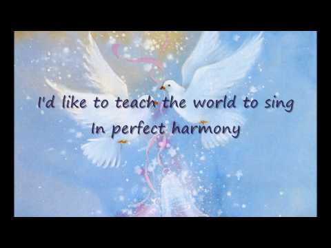 I'd Like To Teach The World To Sing Feat Teresa Carpio ...